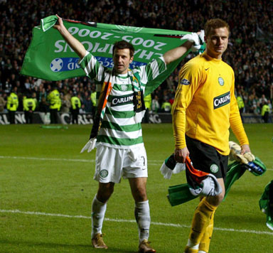 boruc and zurawski in celtic