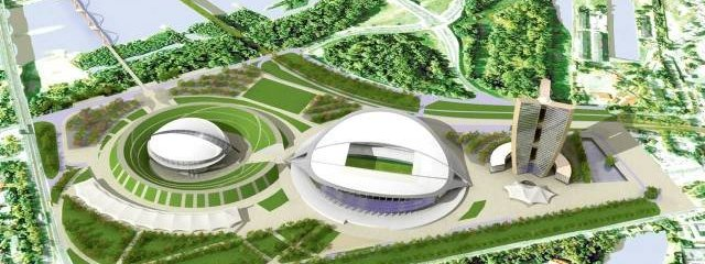 Warsaw stadium area