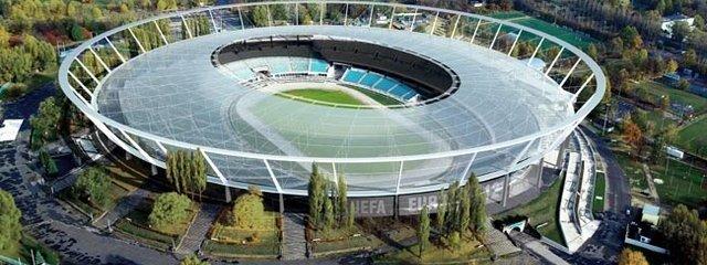 Silesia stadium roof