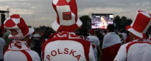 Polish fans and supporters
