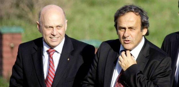 Platini and  Drzewiecki
