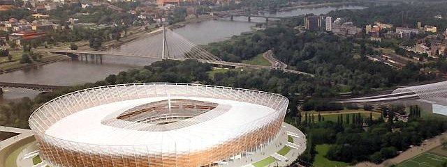 National stadium in Poland