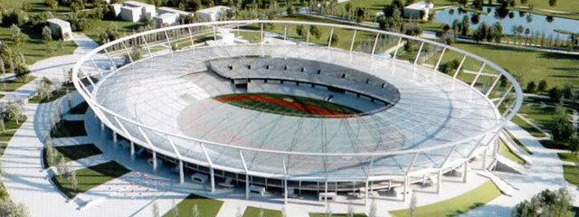 The new Silesian stadium makes impression