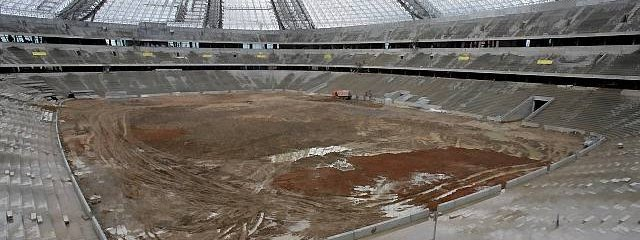 Euro 2012: A scandal with the stadium in Kiev! Delay and theft.