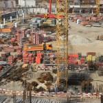 Speeding up the construction work of Polish National Stadium