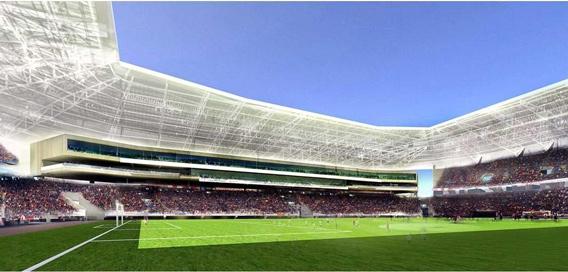 Ukrainian Lviv Stadium