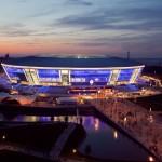 Donieck Stadium opening