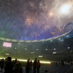 Kharkiv Stadium on Euro 2012