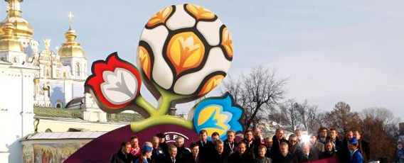Euro 2012: UEFA's decision! The final in Kiev, equal division of cities.