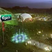 Euro 2012 Carlsberg fan camps
