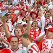 Polish supporters Euro 2012