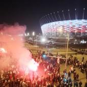 warsaw stadium supporters